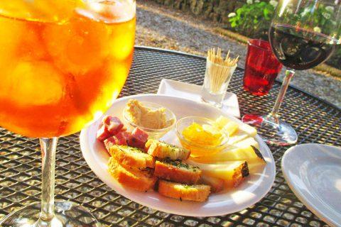 dish aperitif drinks