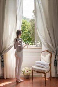 Services Rooms view Villa di Piazzano SLH Luxury Hotel Cortona tuscany