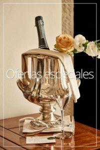 Special Offers room services bottle Villa di Piazzano SLH Cortona Tuscany