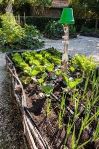 vegetable garden Villa di Piazzano SLH Luxury Hotel Cortona tuscany