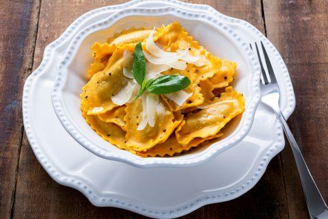 pasta food ravioli
