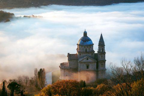 view fog tuscany