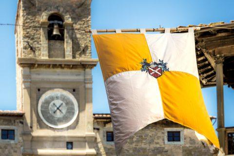 flag tower tuscany