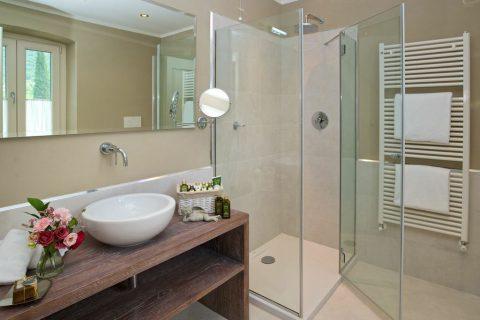 bathroom flower shower