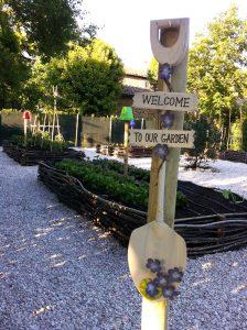 welcome our garden