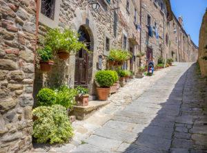 landscape street vespa