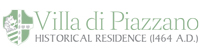 logo Villa di Piazzano SLH Luxury Hotel Cortona