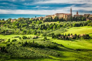 view tuscany