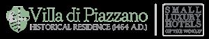 Logo Villa di Piazzano SLH Luxury Hotel Cortona tuscany
