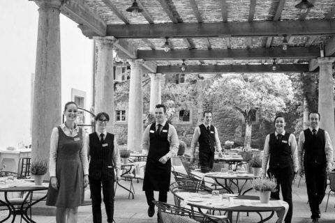 Restaurants Cortona L'Antica Casina di Caccia tuscan cuisine staff