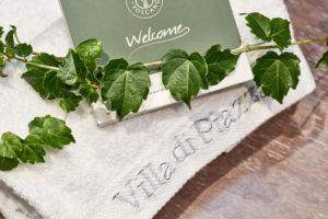 Bathroom set detail Rooms Villa di Piazzano SLH Luxury Hotel Cortona tuscany